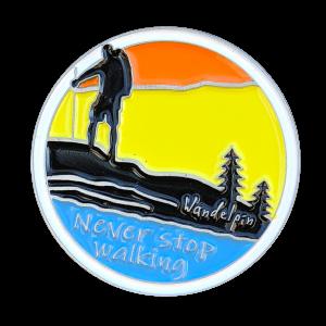 Never stop walking | Wandelpin
